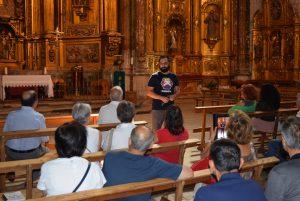 Imagen. Visita Iglesia, Día Europeo del Enoturismo. Ruta del Vino Cigales