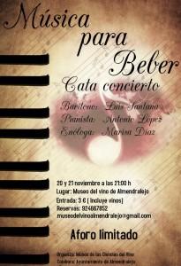 Imagen del cartel Música para Beber.