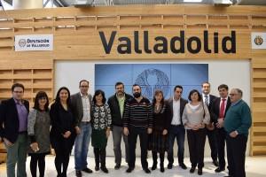 Imagen.El Stand de la Diputación Provincial de Valladolid y el Ayuntamiento de Valladolid. Intur 2015