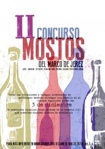 Imagen del cartel del II Concurso Mostos del Marco de Jerez, puesto en marcha por el Consejo Regulador.