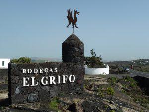 Imagen. Entrada de Bodegas El Grifo