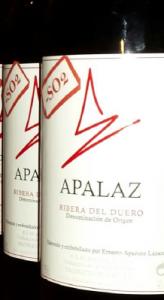 Imagen. Apalaz sin Sulfitos 2014. Primer vino sin sulfitos de la Ribera del Duero. Bodega Apalaz Vigneron