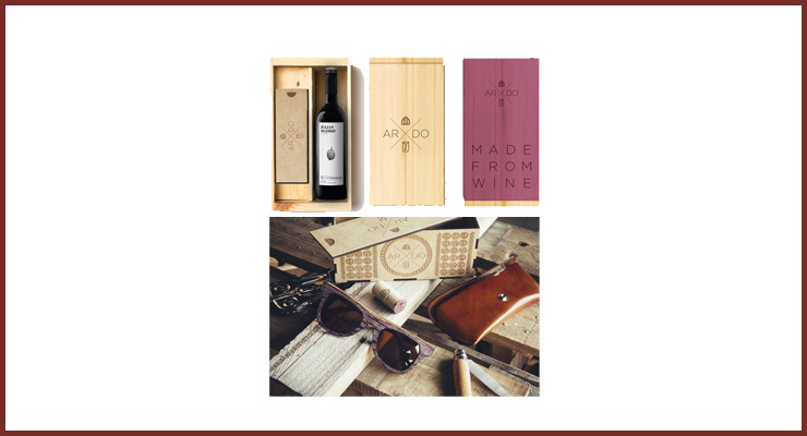 Ardo: Wood Design Made From Wine.