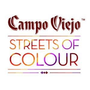 "Logotipo de ""Campo Viejo Streets of Colour"""