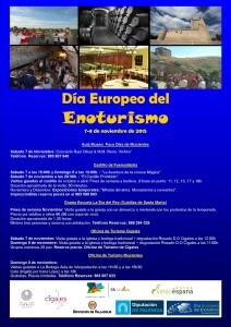 Imagen. Cartel cultura, Día Europeo del Enoturismo. Ruta del Vino Cigales