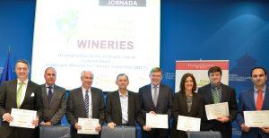 """Imagen. Matarromera también selló su participación en el esquema de Certificación """"Wineries for Climate Protection"""""""