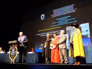 Imagen. Utiel-Requena recibe el Premio Aurum Europa Excellence