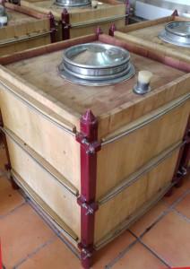 Imagen. 18 meses de crianza en barricas Roc Cuve de roble francés. Verum V Tempranillo Reserva de Familia 2010