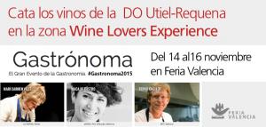 Imagen. La DO Utiel-requena participará en la Feria Gastrónoma