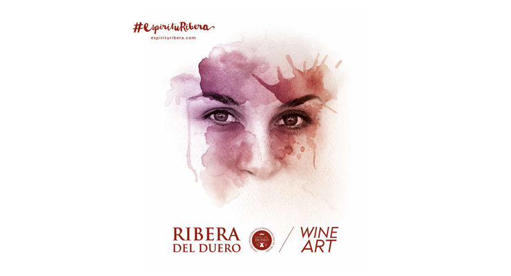 Wine Art. Tu propio retrato teñido del color del vino.