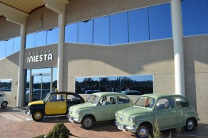 Imagen. Bodega Iniesta recibe el reconocimiento del Club Seat 600 de Albacete