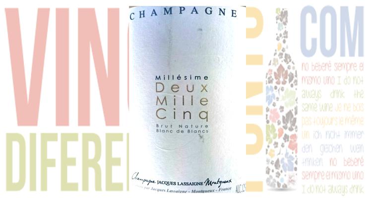 Deux Mille Cinq, champagne de añada de Jacques Lassaigne