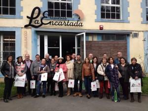 Imagen. Rioja Alavesa intercambia experiencias con destinos de Euskadi Gastronomika