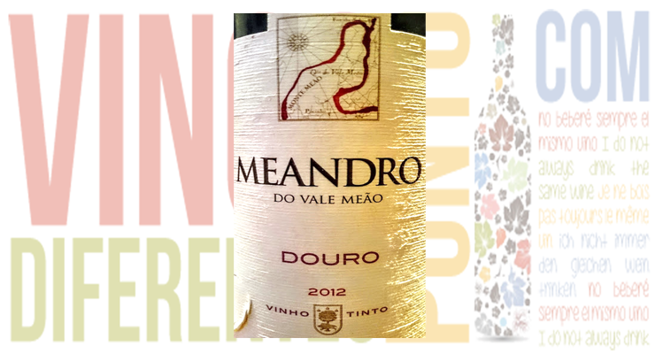 Meandro 2012. Quinta do Vale Meao.
