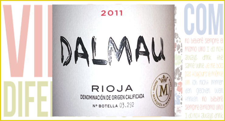 Dalmau 2011. Bodegas Marqués de Murrieta.