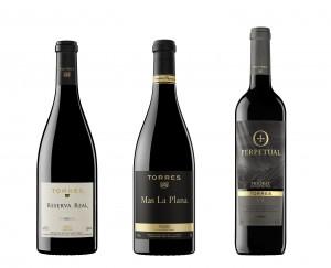 Los vinos de Bodegas Torres consiguen excelentes puntuaciones
