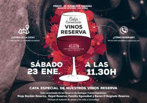 Imagen. Curso cata de Reservas de Rioja en Bodegas Franco-Españolas