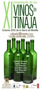 Imagen .XI Presentación de los Vinos de Tinaja de la Asociación Empresarial de Lagares de la Sierra de Montilla