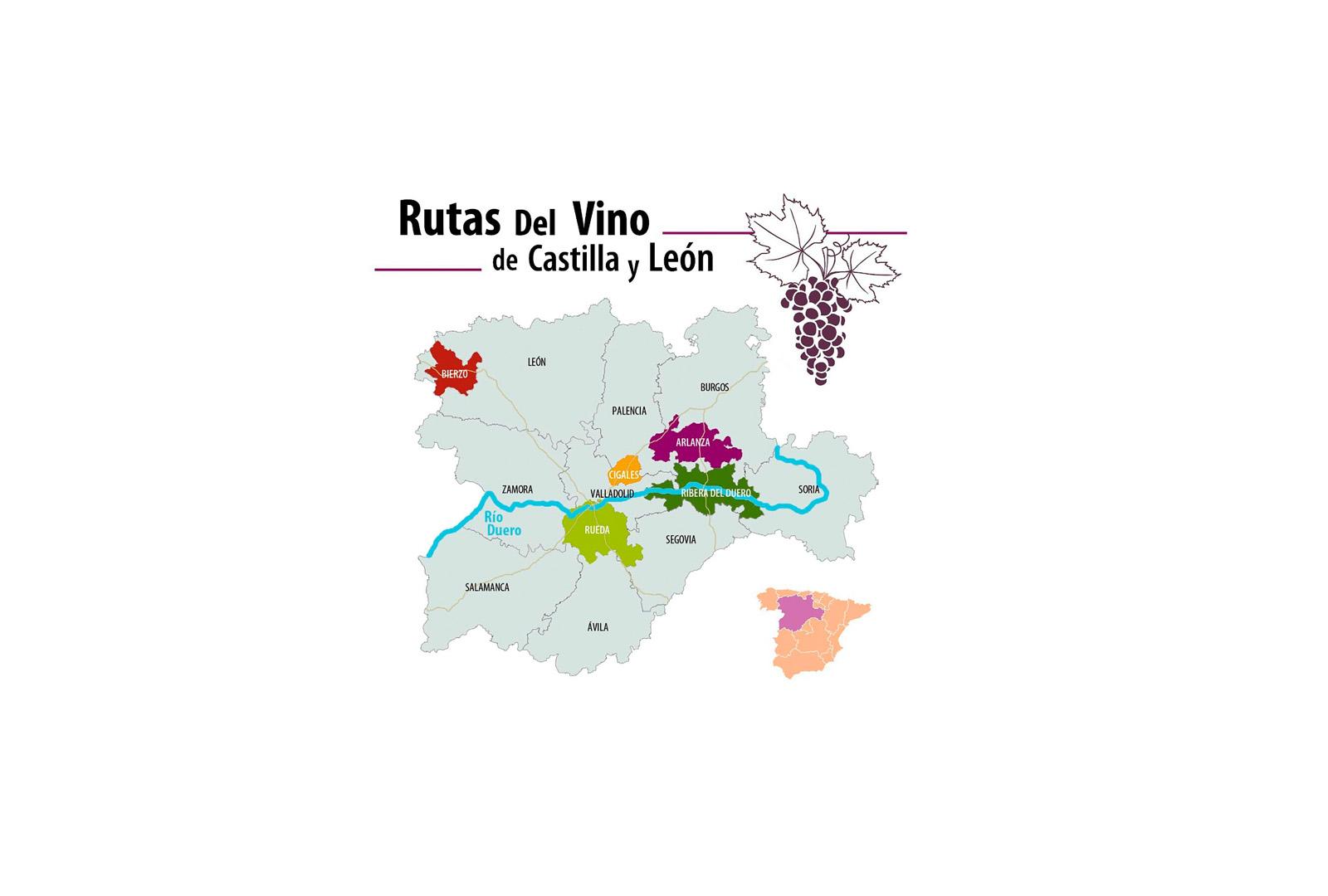 Rutas del Vino de Castilla y León en Fitur.