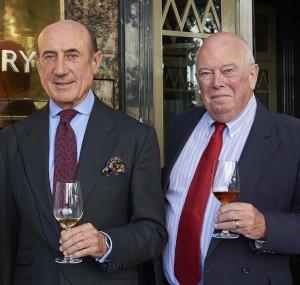 Imagen. Jubilación de Graham Hines, director de Vinos de Jerez en Reino Unido.
