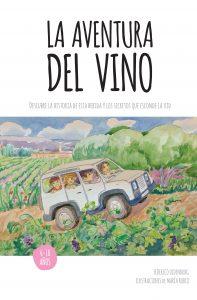 "Portada de ""La Aventura del Vino"" de Federico Oldenburg"