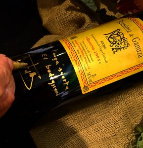 Remírez de Ganuza reserva 1995 subastado en The Naples Winter Wine Festival