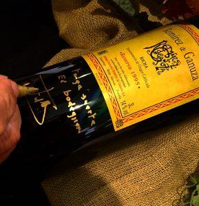 Remírez de Ganuza reserva 1995 subastado en The Naples Winter Wine Festival