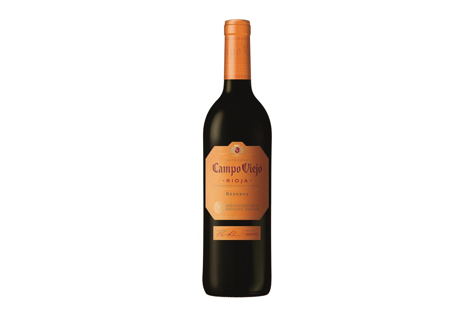 Campo Viejo Reserva 2010, 90 puntos Wine Spectator.