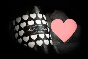Imagen. Paco & Lola lanza su edición limitada especial San Valentín, un albariño con corazón