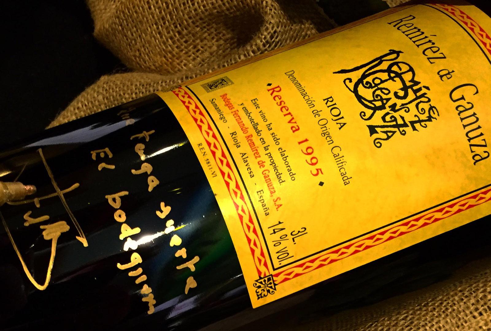 Remírez de Ganuza en The Naples Winter Wine Festival.