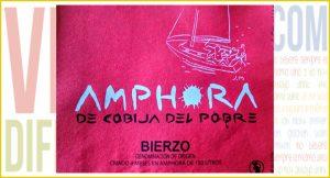 Amphora de Cobija de Pobre 2013