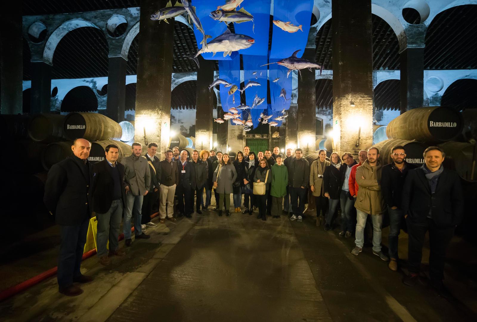 Curso de formadores homologados del vino de Jerez.