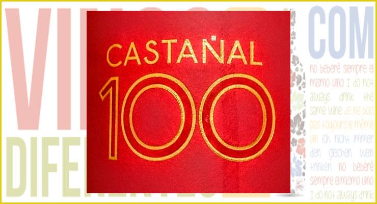 Dávila Castañal C100 2013. Vino de Marzo de 2016.