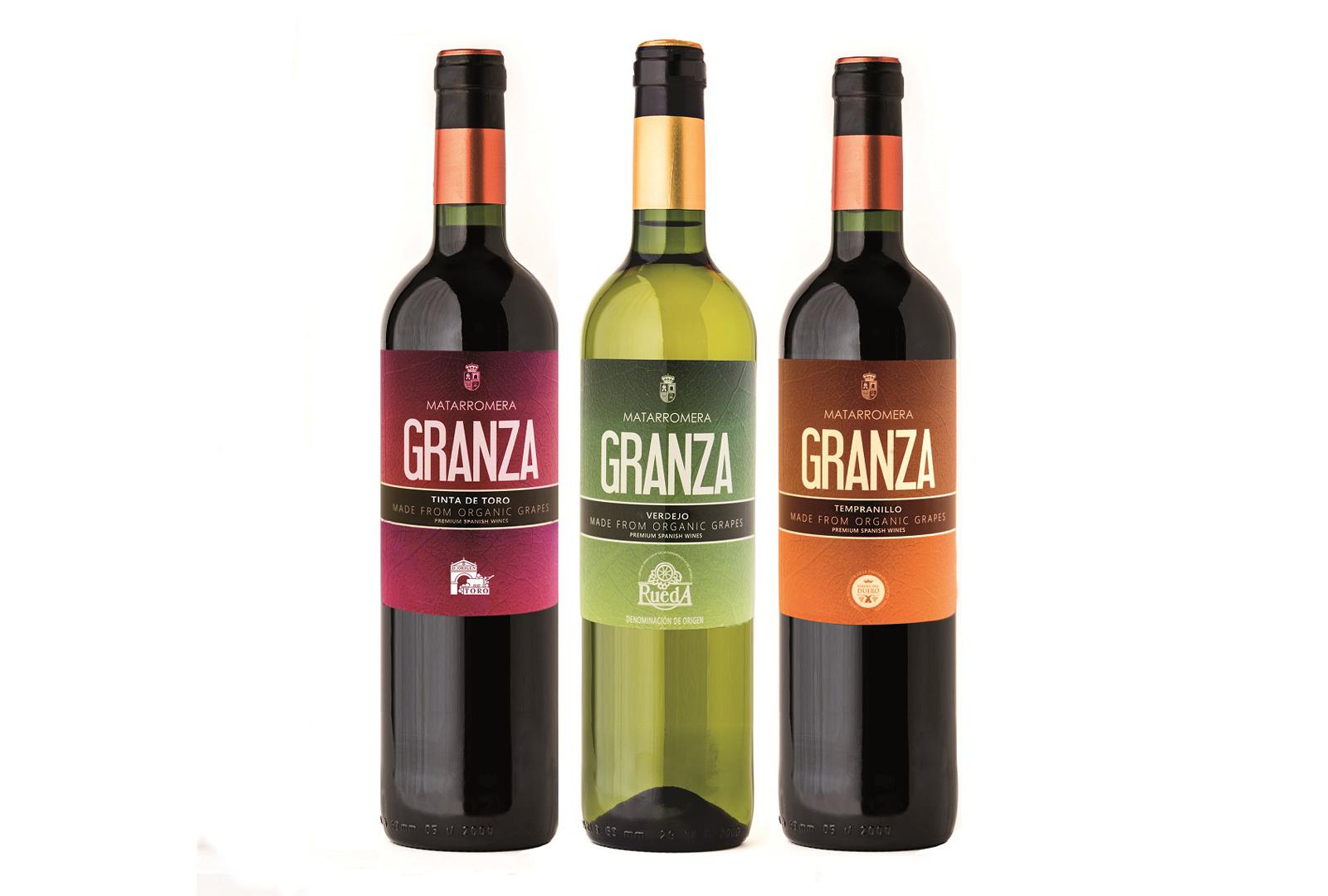 Granza, la nueva línea de vinos ecológicos de Matarromera.