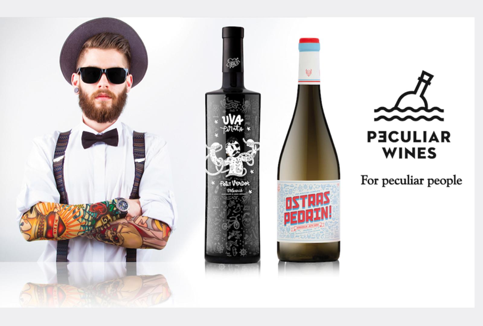 Peculiar Wines: Un mensaje en cada botella.