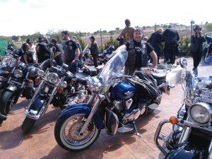 Bodega Iniesta recibe a la concentración nacional de Harley Davidson