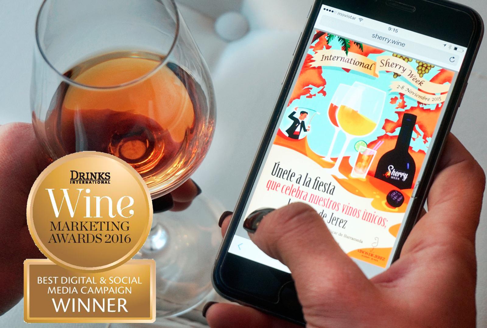 International Sherry Week premiado en los Drinks International Awards