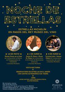 Cocineros con estrella en Pagos del Rey Museo del Vino