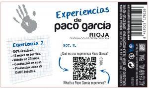 Paco García Experiencia Contraetiqueta Experiencias 2