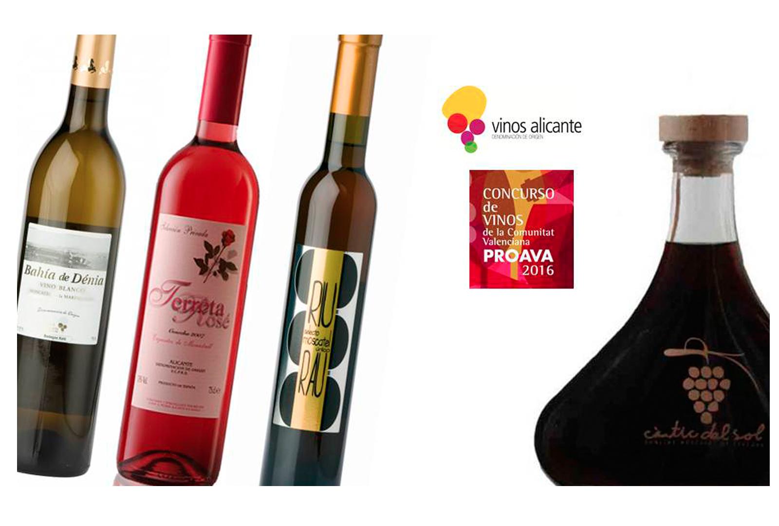 Bodegas Xaló, triunfadora en los Premios de vinos de Proava.