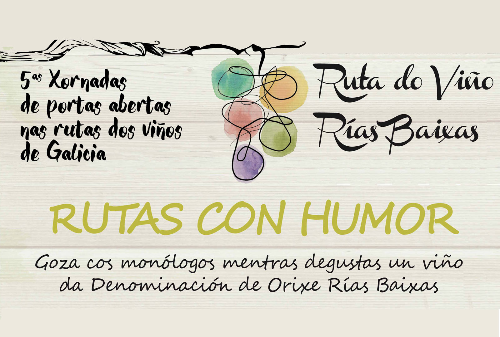 Rías Baixas celebrará las V Jornadas de Puertas Abiertas.