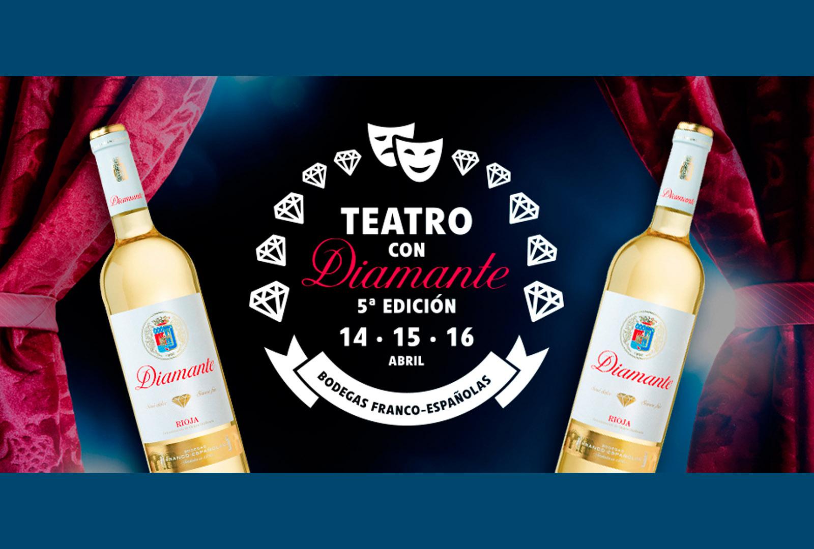 Teatro con diamante en Bodegas Franco-Españolas.