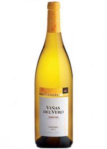 """Viñas del Vero Chardonnay colección en """"Julieta""""."""
