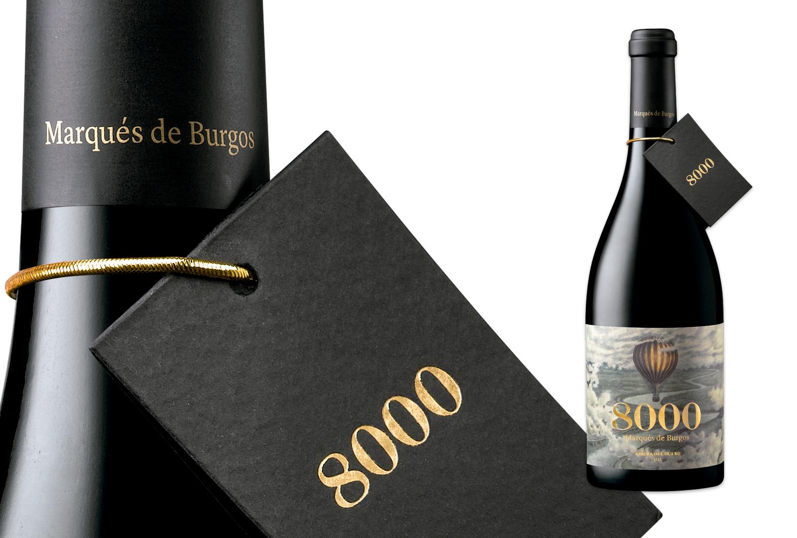 8000, el vino más singular de Marqués de Burgos.
