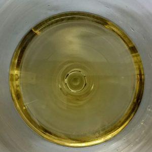 Imagen. Bello color de Ximénez-Spínola Fermentación Lenta 2014 en nuestra copa.