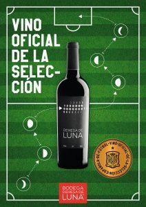 Dehesa de Luna vino oficial seleccion futbol