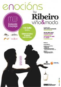 Coupage de María Barros dentro del ciclo Enocións by Ribeiro