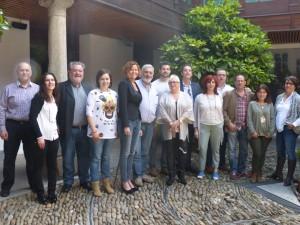 Los 11 miembros que han formado el Panel de Cata y personal técnico del Consello Regulador.