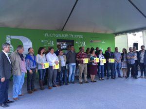 La 53ª Feira do Viño do Ribeiro reconoce a los ganadores de la cata popular