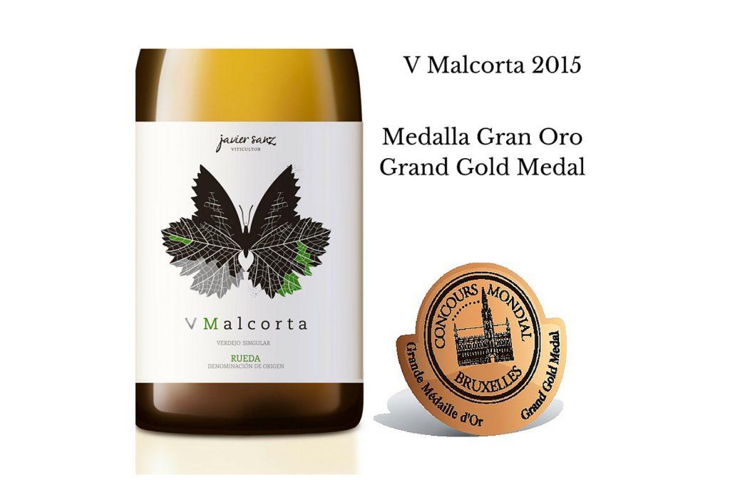 V Malcorta 2015 se alza con la medalla Gran Oro. - VINOS DIFERENTES